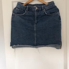 Denim nederdel