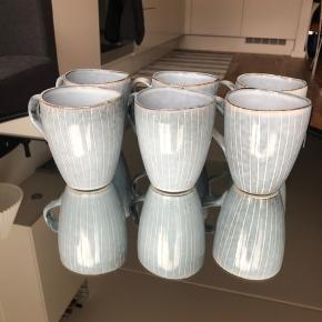 6 fine Broste Copenhagen kopper   Koster 25,- pr. stk. - dvs. 150,- i alt for alle 6  Sendes ikke så de skal hentes på teglholmen