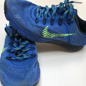 Varetype: Løbesko Størrelse: 41 Farve: Blå Oprindelig købspris: 1200 kr.  Nike Terra terræn løbesko