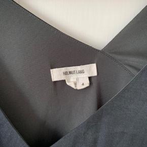 Dark blue helmut lang silk dress Perfect for summer