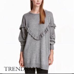 Super fin strik fra H&M trend. Brugt få gange og fremstår i rigtig fin stand. Str. Xs, dog oversize! Nypris 500 kr. Jeg bytter ikke.