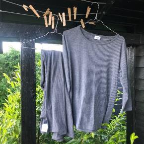 Gina tricot leggings med vidde i rib Evt sæt med denne overdel