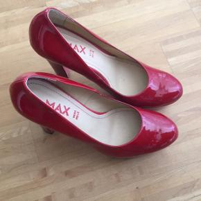 Max red high heels