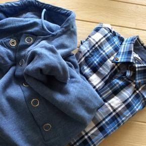 Skjorten som ny , trøjen er god men brugt