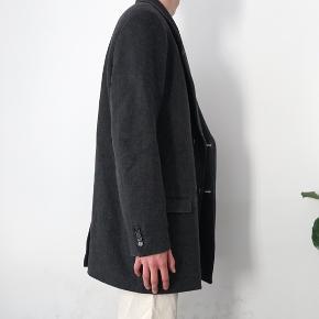 Isabel Marant pour H&M jakke, fra deres co-lab.  Grå uldjakke i casual oversize fit. Giv et bud.