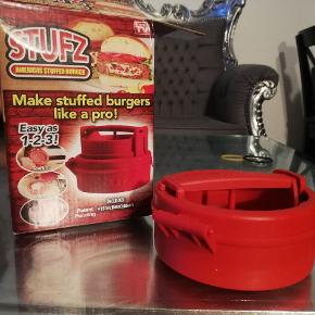 Brugt 1 enkelt gang. Til at lave fyldte burger bøffer med.