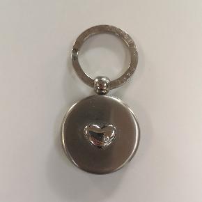 Sølv nøglering med spejl og plads til at indsætte eget billede 🌟 Kan sendes eller afhentes i Kolding/Egtved