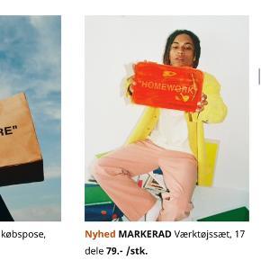 Fra kollektionen mellem Ikea og Virgil Abloh, som også designer OFF WHITE