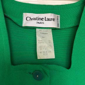 Smukkeste grønne kjole. Fransk design.