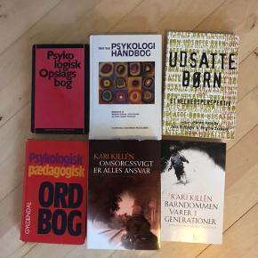 Pædagogiske bøger. Omsorgssvigt Psykologi  Samlet