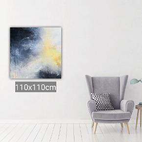 Abstrakt Maleri fra Art By Rohmann. Akryl, med forskellige teknikker. Har flere udstillinger og bestillinger bag mig. Malerier også på bestilling. Dette maleri måler 100x100 cm. Levering mod betaling