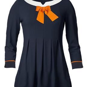 Varetype: Bluse Farve: Hvid,Orange,Navy