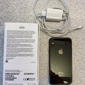 Rigtig fin IPhone xs 64gb! Stadig med garanti! Kvittering, kasse og original oplader medfølger