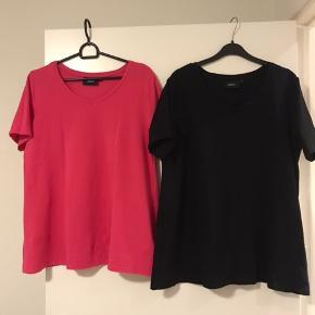 Zizzi modeller str S, bomuld med elastan. Den pink er ikke brugt, den sorte er brugt 1gang. Prisen er 50kr pr. stk.