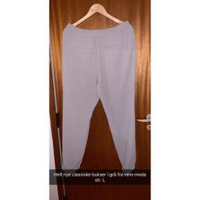 Helt nye classiske bukser i grå fra vero moda str. L
