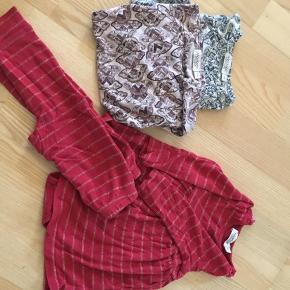 2 langærmede bodyer fra marmar str 62 og kjolebody str 68 samt bukser 74 (brugt sammen med kjolen)  6710 sjelborg