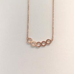 Halskæde i rosegold 🌟 Kan sendes eller afhentes i Kolding/Egtved