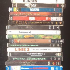 26 blandede dvd film samlet Byd
