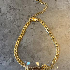 Gold Plated Curb Chain Anklet Kan bruges til armbånd eller anklet Onesize Byd gerne Sendes eller afhentes i Nordvest Skriv for billeder 🦋 #GøhlerSellout