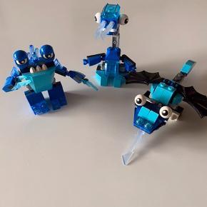 Forskellige Lego mixels.  Pris er pr stk. køber betaler fragt. Der medfølger blade/instrukser
