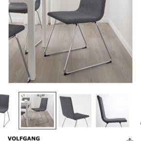 Sælger denne stol. Er blevet brugt som skrivebordsstol. Nypris: 495,-