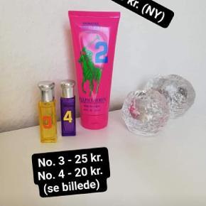 Blandet produkter, som stort set alle er nye undtagen de 2 små parfumer (se billede for indhold).   Tryk på billederne for at se dem i fuld størrelse, og dermed også priserne.   Sender gerne med Postnord for billigere fragt (sender billede af pakken inden afsendelse)   Du er velkommen til at sende mig en pb for mere information eller andre billeder.  OBS: PRISEN ER IKKE 50 KR. FOR ALLE PRODUKTERNE!! Det er kun en pris jeg har sat da det dyreste produkt er 50 kr.
