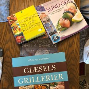 4 grill opskrifts bøger, Webers - Politiken - I Form - Glæsel