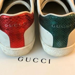 Gucci Ace sneakers  - Fitter 37-38 - Har box, kvittering og skoposer  #30dayssellout