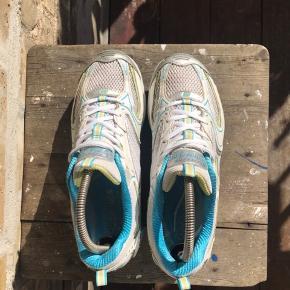 Vintage Skechers sneakers  Hvid/tyrkis/lime Str 38,5