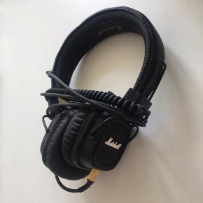 Sælger disse sort hovedtelefoner fra Marshall i sort. Brugt meget lidt. Byd!