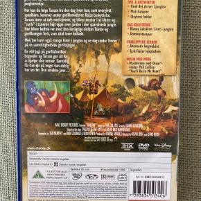 Disney Tarzan film. Kan også sendes for 20kr med post nord på eget ansvar.