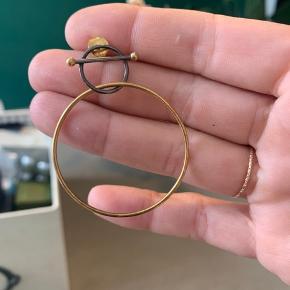 Fejler intet og er max brugt 4 gange☀️ Materiale  Swing Medi Earring - High Polish - Gold Plating -Rhodium plating, black    Kom gerne med bud
