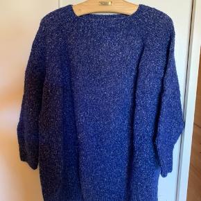 Super blød mohair håndstrikket sweater  Overvidde 2x75 Længde 80
