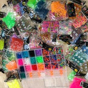 Julegave ide! Alt på billedet (æske m brædt og 3000 looms plus 50 poser med looms i forskellige farver og former) Har mange sæt og sender gerne.