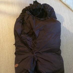 Combi kørepose, brun.