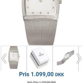 Virkelig stilfuldt og klassisk dame ur. Stortset ikke brugt efter køb. Fremstår som nyt. Forbeholder mig ret til ikke at sælge hvis mp ikke opnåes ☺