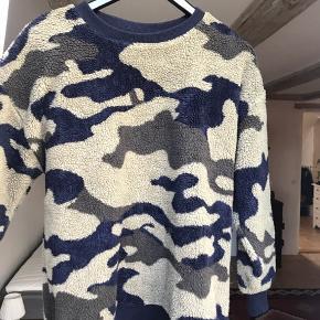 Fleece sweater fra Zara