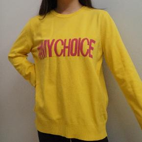 #MYCHOICE sweater i str L fra MANGO