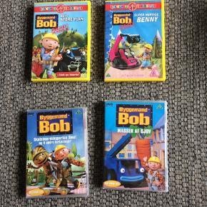 Byggemand Bob dvd'er 15,- pr stk eller alle for 50,-