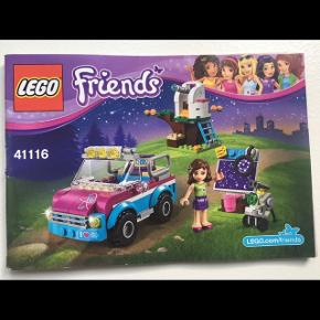 LEGO friends 41116, komplet inkl manual