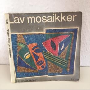 Hobbybog om. Mosaikker  Smykker mm   Bog hobby