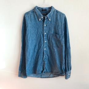Denim jakke skjorte