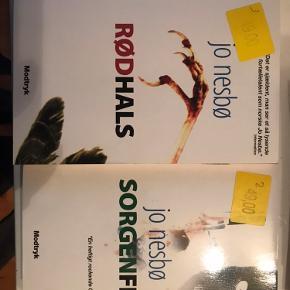 Alle 3 bøger for 30kr. Ellers 15kr. Pr bog