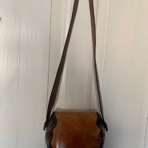 Smuk (!) Rabens Saloner Vintage taske i skind.   #30dayssellout