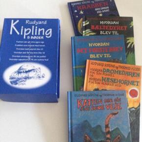 Bogpakke m/ialt 5 bøger m/stor og let læselig skrift.