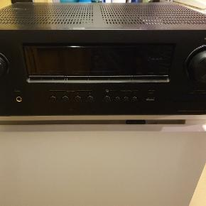 Denon Avr-1912 surround receiver, sælges pga opgradering, virker 100% som den skal.