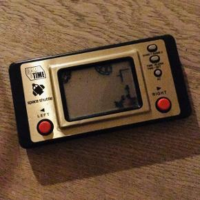 VINTAGE Sjælden MATSUSHIMA GAME & TIME SPACE SHUTTLE 1983  COLLECTOR'S HANDHELD
