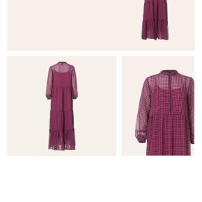 Smuk lang kjole fra Resumecph - ny pris 1400,- med underkjole. Køber betaler Porto via DAO.