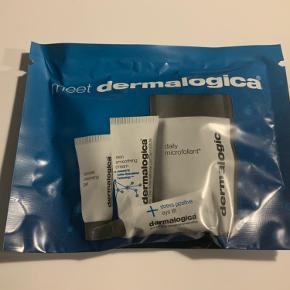 Dermalogica Special cleansing gel 7 ml Stress positive eye lift 6 ml Skin smoothing cream 7 ml Daily microfoliant 3 samples Ny i pose og plomberet Sender gerne på købers regning
