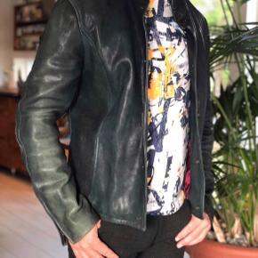 Emporio Armani Skind- & læderjakke